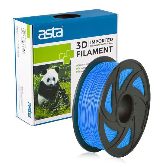 ASTA MEXICO Filamento Impresora 3D 1.75mm 1KG Azul Claro - 1