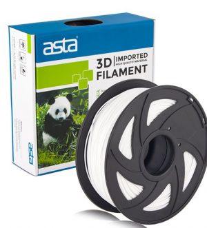 ASTA MEXICO Filamento Impresora 3D 1.75mm 1KG Blanco - 1