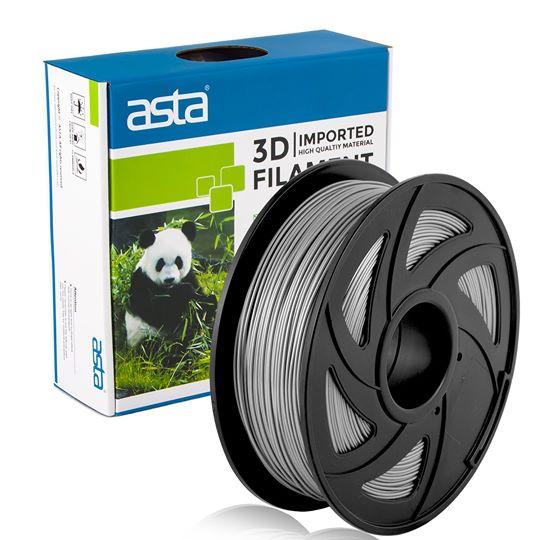 ASTA MEXICO Filamento Impresora 3D 1.75mm 1KG Gris - 1