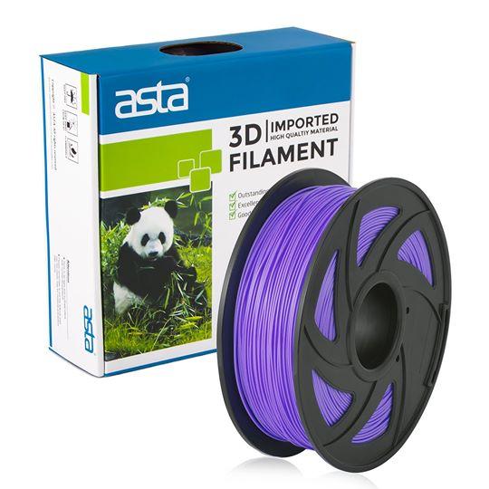 ASTA MEXICO Filamento Impresora 3D 1.75mm 1KG Morado - 1