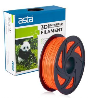 ASTA MEXICO Filamento Impresora 3D 1.75mm 1KG Naranja - 1