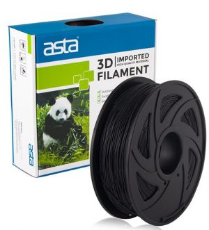 ASTA MEXICO Filamento Impresora 3D 1.75mm 1KG Negro - 1