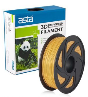 FILAMENTO PARA IMPRESORA 3D (SEDA) ORO