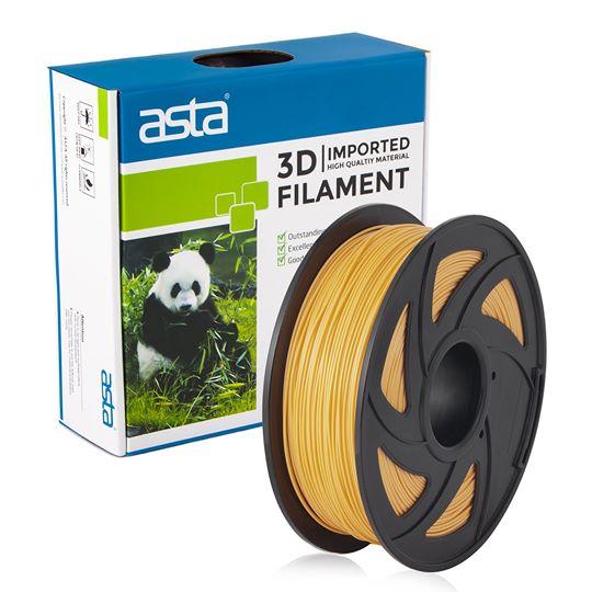 ASTA MEXICO Filamento Impresora 3D 1.75mm 1KG Oro - 1
