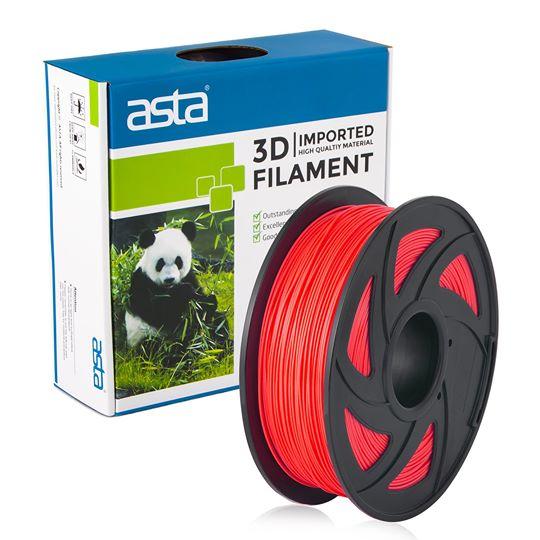 ASTA MEXICO Filamento Impresora 3D 1.75mm 1KG Rojo - 1
