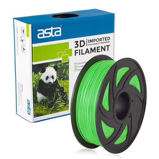 ASTA MEXICO Filamento Impresora 3D 1.75mm 1KG Verde - 1