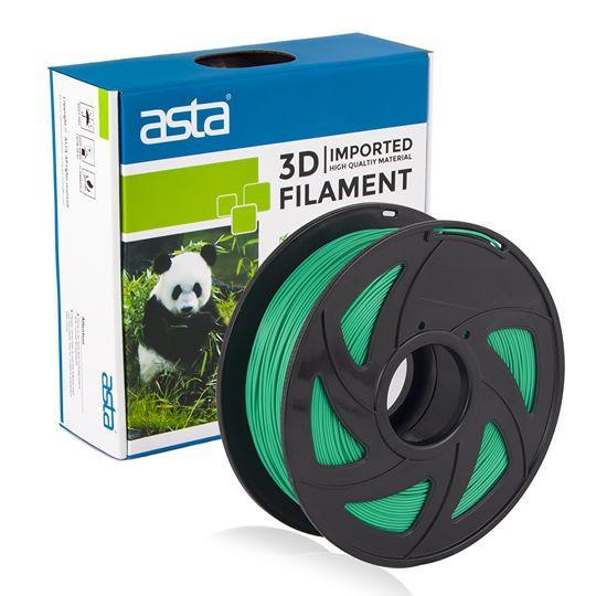 ASTA MEXICO Filamento Impresora 3D 1.75mm 1KG Verde Hoja - 1